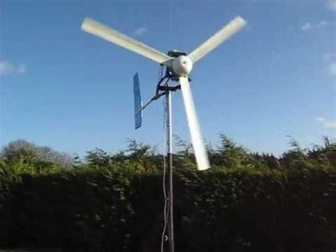 5500w diy homebuilt induction wind turbine