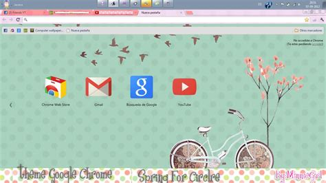 theme google chrome vixx theme google chrome spring for circle by minniegirl3 on