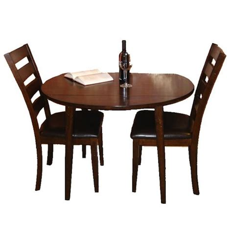 Drop Leaf Table And Chair Set Belfort Select Cabin Creek 3 Drop Leaf Dining Table And Ladder Back Side Chair Dining Set