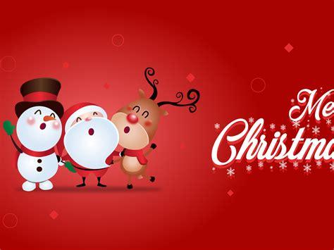wallpaper merry christmas snowman santa claus celebrations christmas  wallpaper