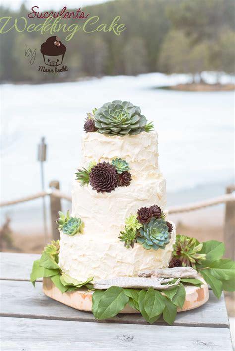 Hochzeitstorte Tirol by Rustikale Mexican Style Hochzeitstorte Mit Succulenten