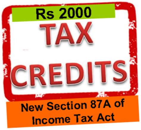 income tax act section 5 section 87a tax rebate tax credit of rs 2000 wealth18 com