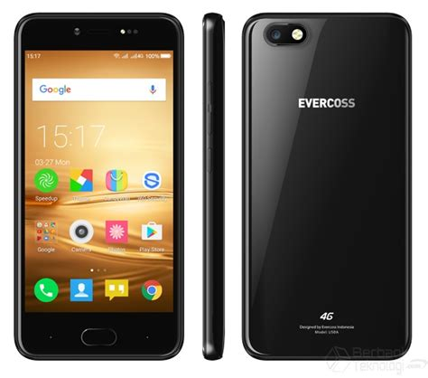 Hp Android One Plus evercoss u50a plus hp android tahan banting harga murah