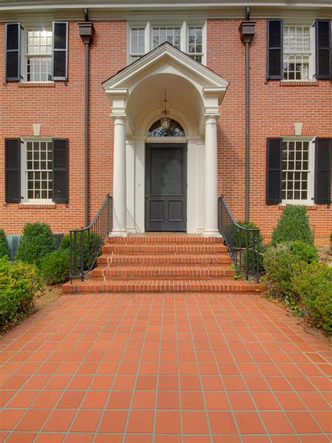 front door colors with red brick red brick homes with shutters front door colors for red