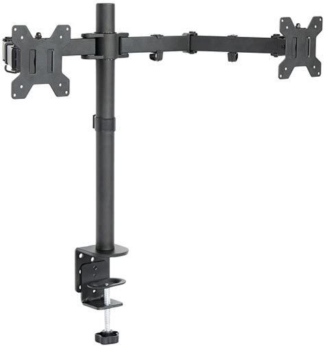 desk mount dual monitor stand top 10 best dual monitor stands 2017 review