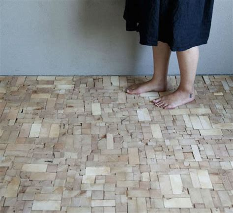 Recycled Flooring by Interesting Flooring Idea The Tiny