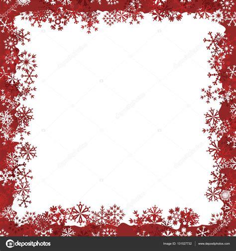 cornice vettoriale cornice di natale con fiocchi di neve vettoriali stock