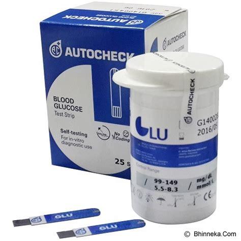 Autocheck Uric Acid jual alat ukur kadar gula autocheck gula darah