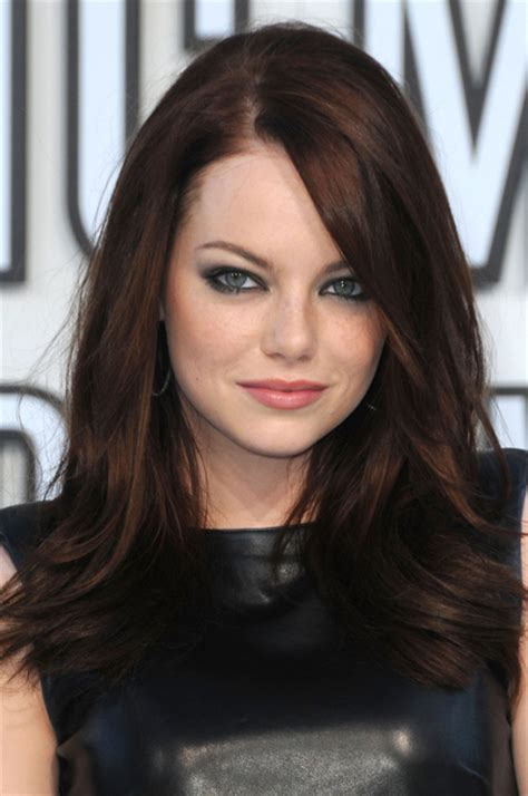 emma stone brown hair homenge emma stone biography