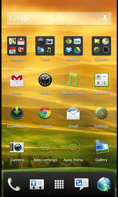 themes apex launcher htc sense 4 hd apex launcher theme amazon ca appstore