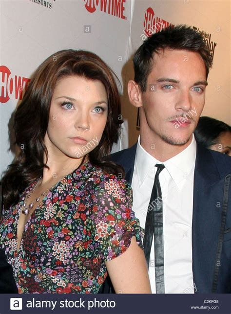 natalie dormer and jonathan rhys meyers jonathan rhys meyers natalie dormer world premiere of