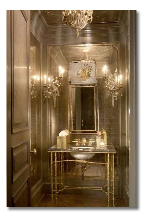 gold wallpaper in bathroom ditto 10 ditto worthy bathrooms that make me drool