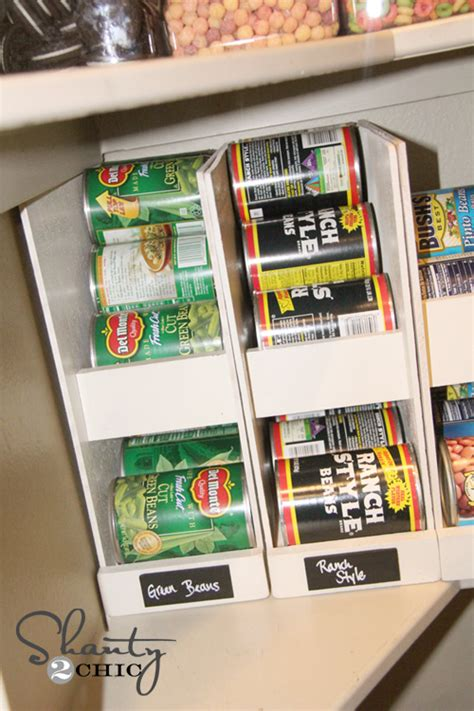 diy canned food organizers pantry ideas pantry and food