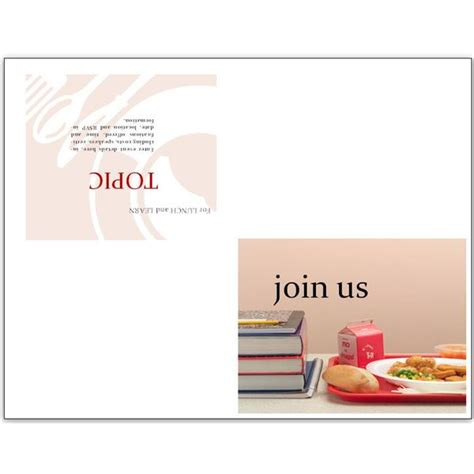 Lunch Invitation Flyer Lunch Invitation Template