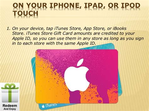 How To Use Itunes Gift Card For Ibooks - how to redeem itunes gift card