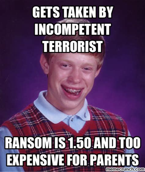 Bad Luck Brian Meme Generator - bad luck bryan