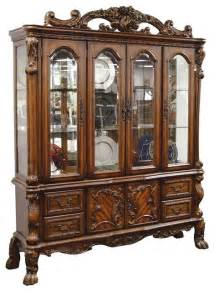 Dining Room Buffets dresden elegant formal dining room hutch and buffet