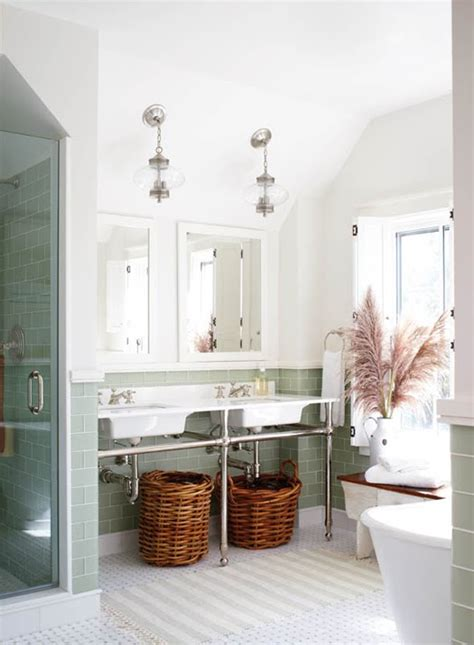 modern country style modern country bathroom