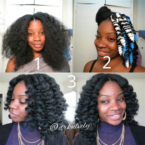 how to hook sprial hair crochet braids with knot less part and curled with spiral