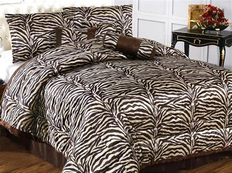 brown zebra comforter 15pc coffee brown zebra comforter curtain bedding set