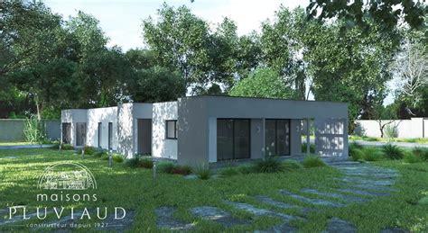 Maison Plain Pied Moderne Studio Design Gallery plan maison moderne plain pied 135m2 studio design