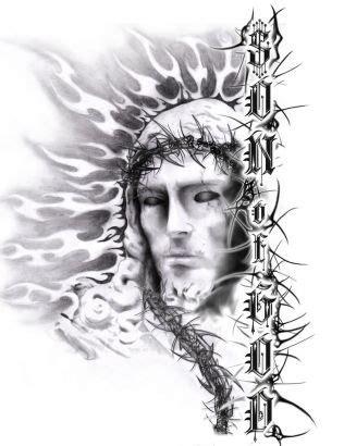 god son tattoo designs jesus of god from itattooz
