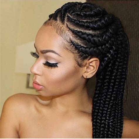 beautiful black women short hairstyle with sideburns gallery 25 best ideas about black women braids on pinterest