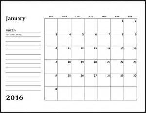 Calendar Monthly Template by Monthly Calendar Template 2016 Calendar Picture Templates