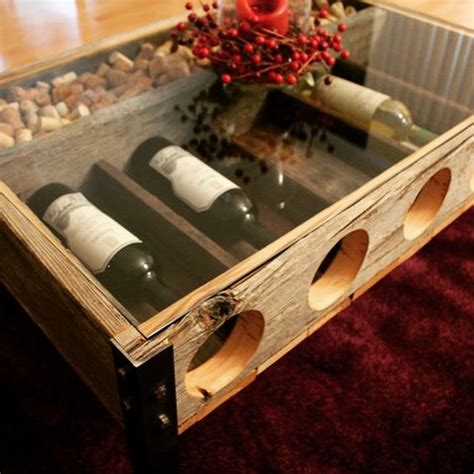 Wine Cork Coffee Table Awesome Wine Rack Cork Holder Coffee Table Made By Ryobi Nation Member Rileymeisch Reusing