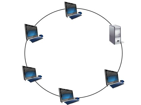 ring network topology diagram computer diagrams computer hardware components diagrams