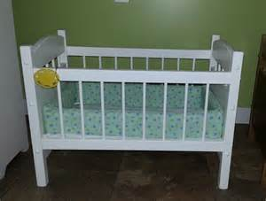 american reborn doll crib bed wood by alaratessalexbres