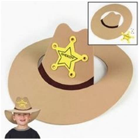 How To Make Cowboy Hats Out Of Paper - 1000 images about western cowboy classroom theme on