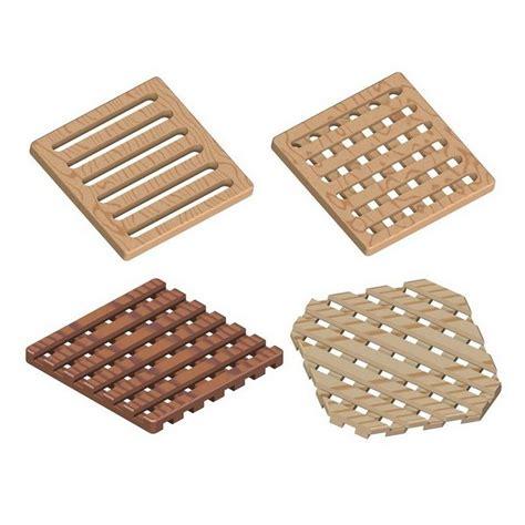 waffle pattern trivet plans