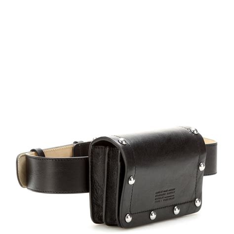 Marc By Marc Belt Bag marc by marc cris leather belt bag in black lyst
