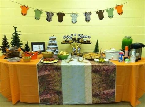 Camouflage Baby Shower Decorations by Camo Baby Shower Theme Baby Shower