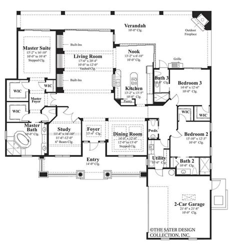 6780 M Sater House Plan Design Dream Home Pinterest