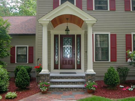 Portico Designs For Front Door Hancock Building Associates Inc Chelmsford Ma 01824 Angies List