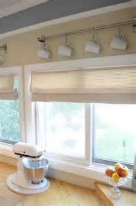 diy kitchen window treatments joy studio design gallery