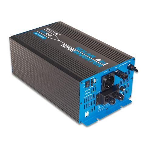 Cstas Paket 4in1 17 ective ssi154 4in1 sinus inverter 1500w 24v sinus wechselrichter mit mppt solarladeregler