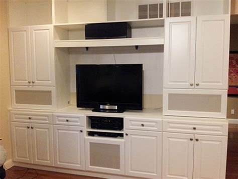beyond storage custom home entertainment centers in st
