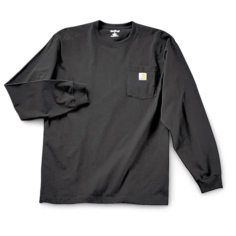 Sleeved Pocket T Shirt carhartt sleeved pocket t shirt black