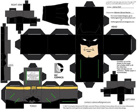 Papercraft Batman - dcnu1 batman cubee by theflyingdachshund on deviantart
