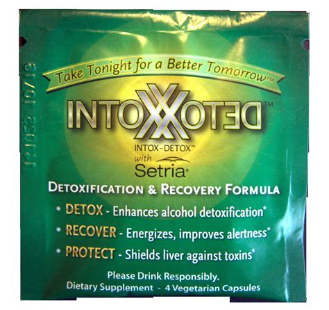 Intox Detox Ingredients by Food Funktions Introduces Intox Detox That Combines Far