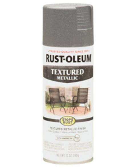 rust oleum 174 stops rust 174 excalibur textured metallic spray paint 12 oz at menards 174