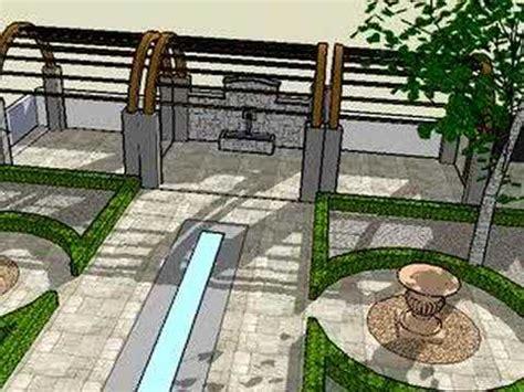 Landscape Design Using Sketchup Sketchup 3d Landscape Design How To Save Money And Do It