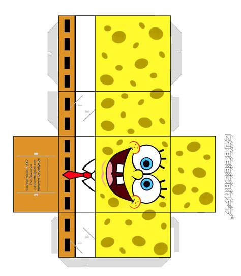 How To Make Spongebob With Paper - papercraft are you looking for an activity sheet or