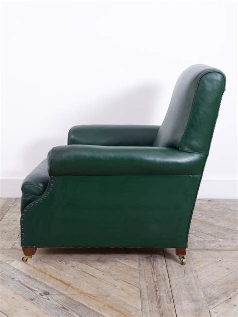 green leather chair green leather club chair drew pritchard ltd