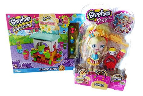 Shopkins Flower Stand shopkins flower stand and popette shoppie bundle spkfans