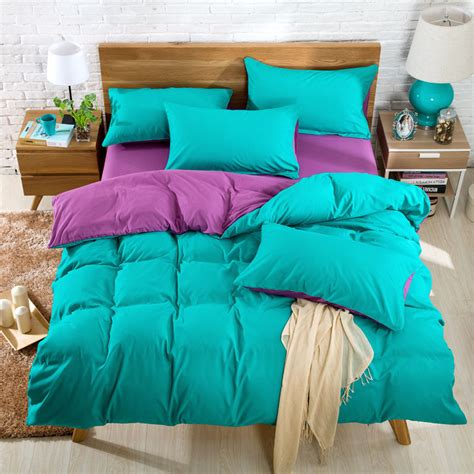 solid color comforter sets flower gift 2016 new comforter bedding duvet cover bed