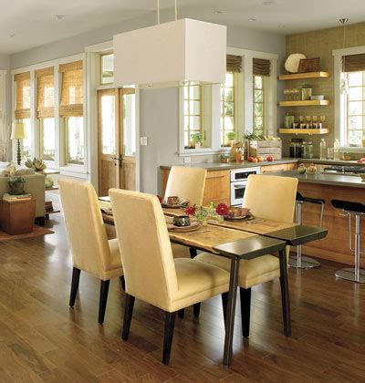 open floor plan kitchen dining room house tweaking